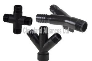 Y type and other manifold fittings