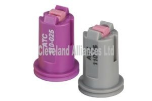 Twin Fan Air Induction Nozzles